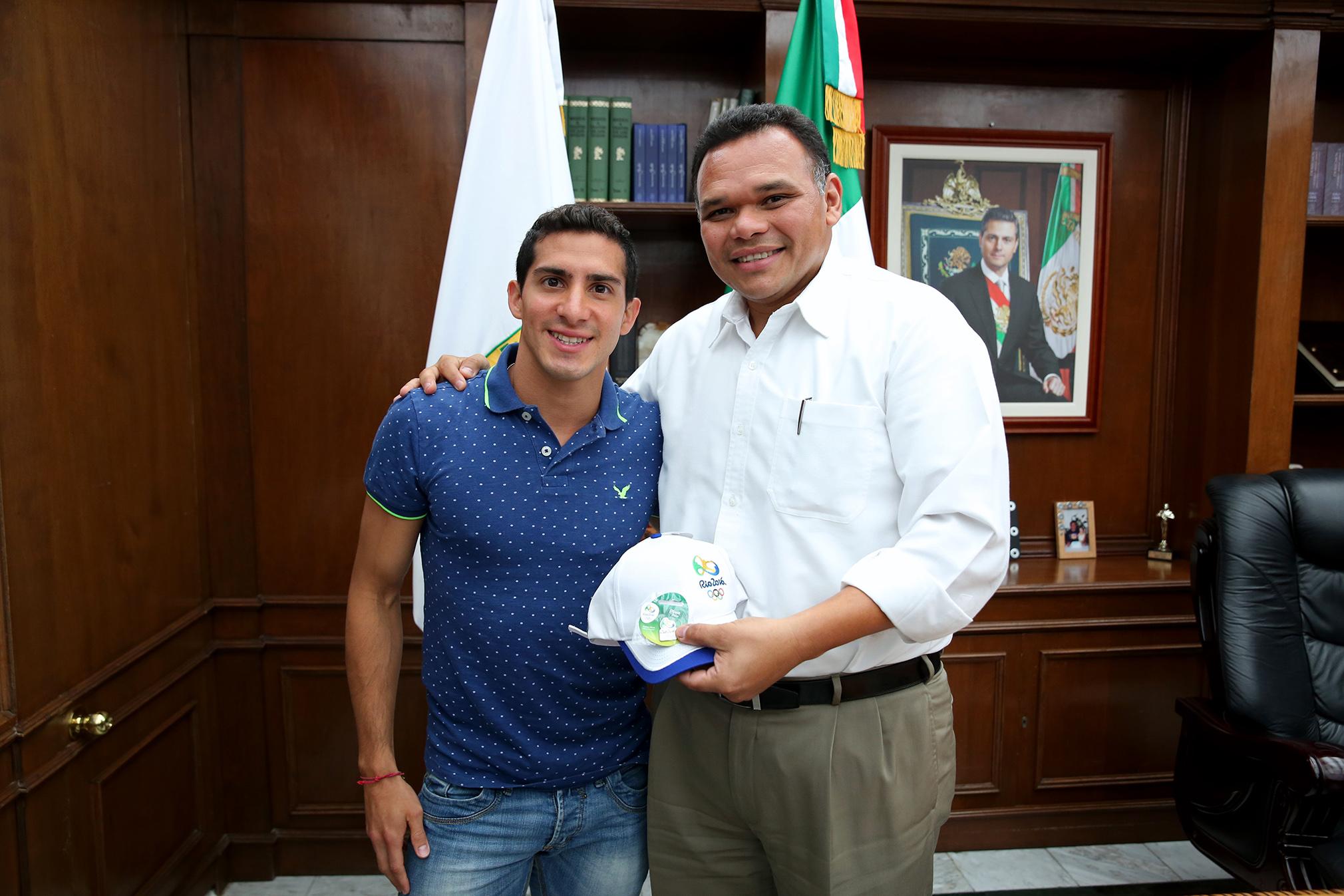 Rommel Pacheco, en Palacio de Gobierno Yucatán