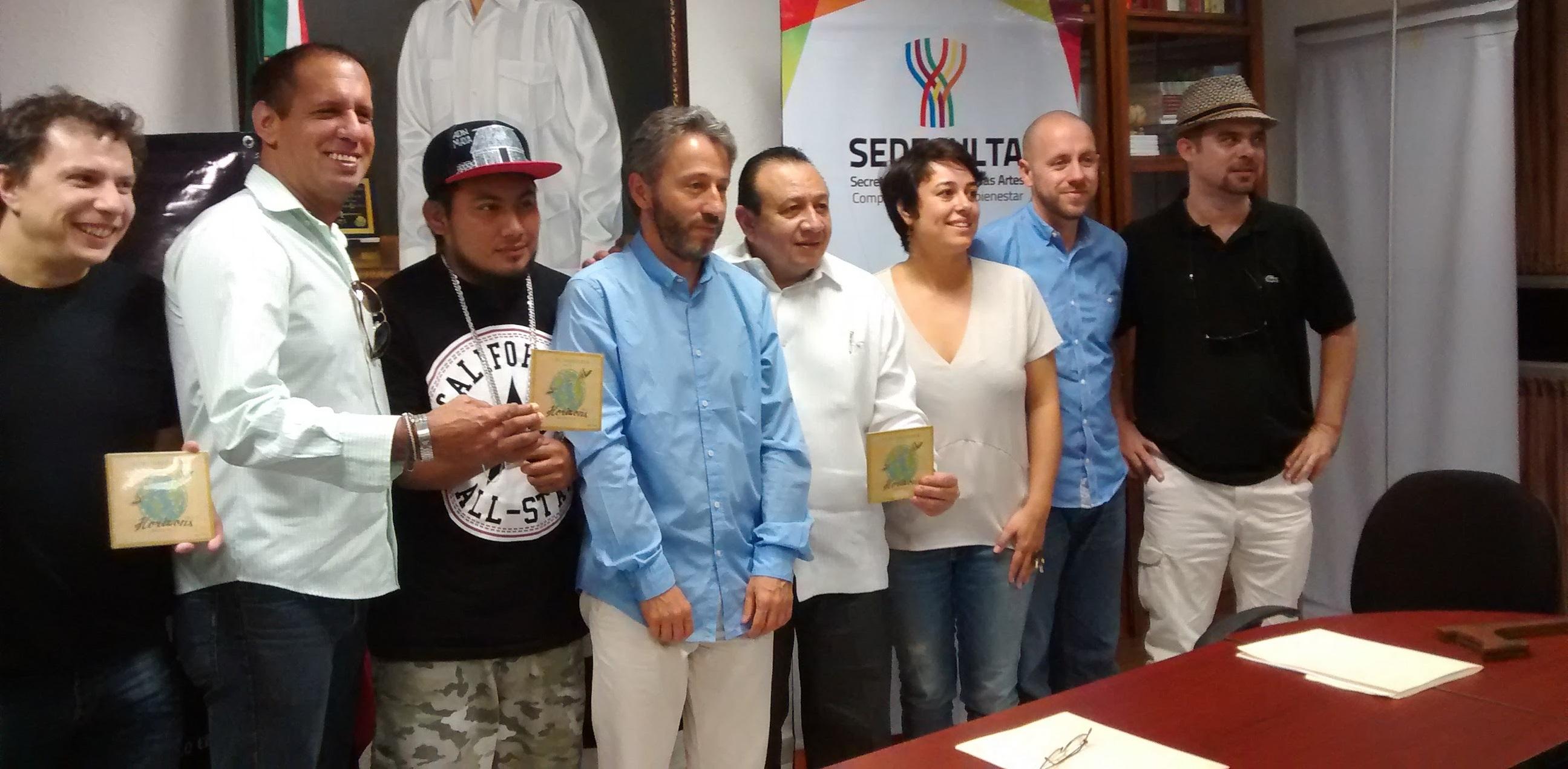 Lanzan disco de músicos franceses y yucatecos en diversos géneros