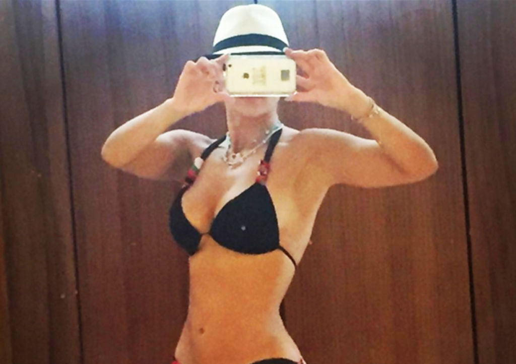 Aracely Arámbula presume cuerpazo en Instagram