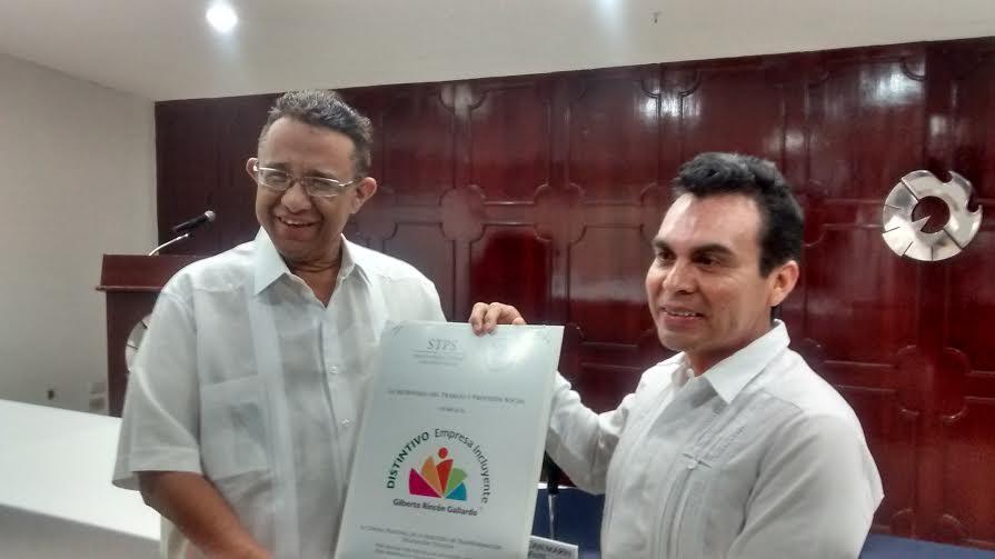 Distinguen plan de inclusión de Canacintra Yucatán