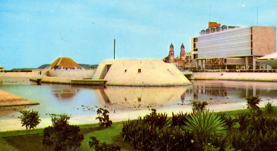 Centro Histórico de Campeche con daño ambiental