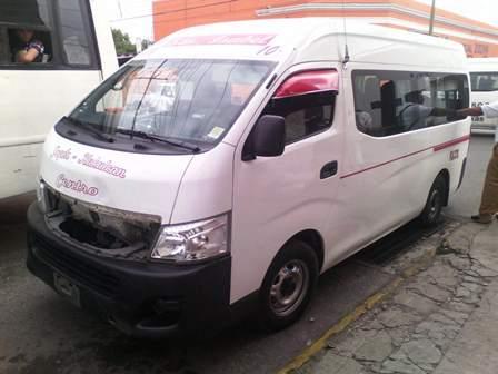 Siete lesionados por choque en centro de Mérida