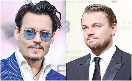 Johnny Depp 'torturó' a DiCaprio en filme