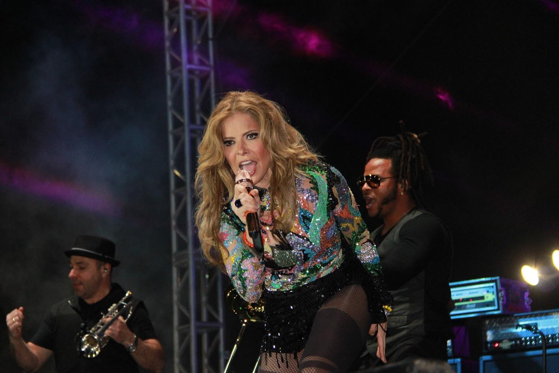 Imágenes del concierto de Gloria Trevi en Plaza Carnaval