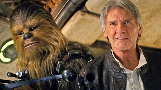 Demandan a producción de Star Wars por fractura de Harrison Ford