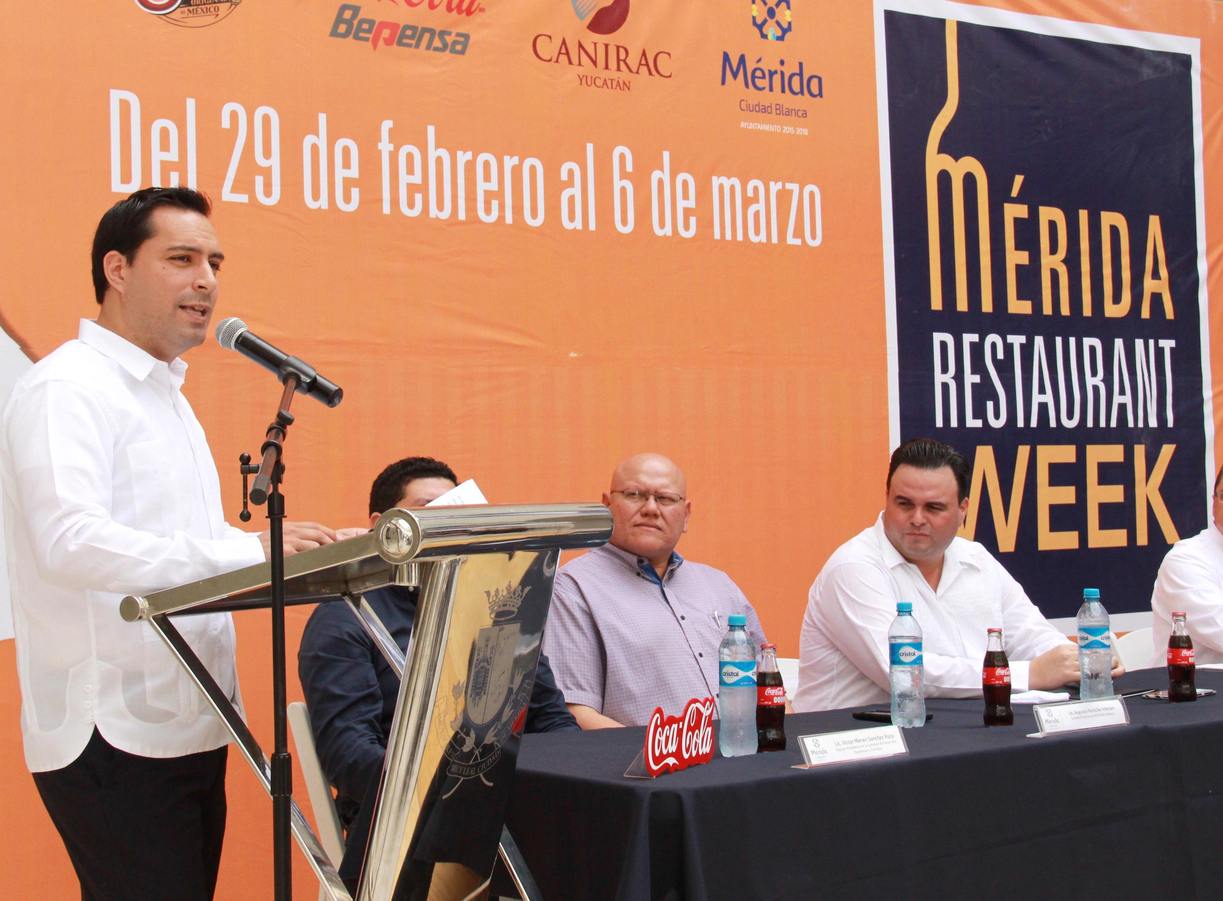 Anuncian el ¨Mérida Restaurant Week¨
