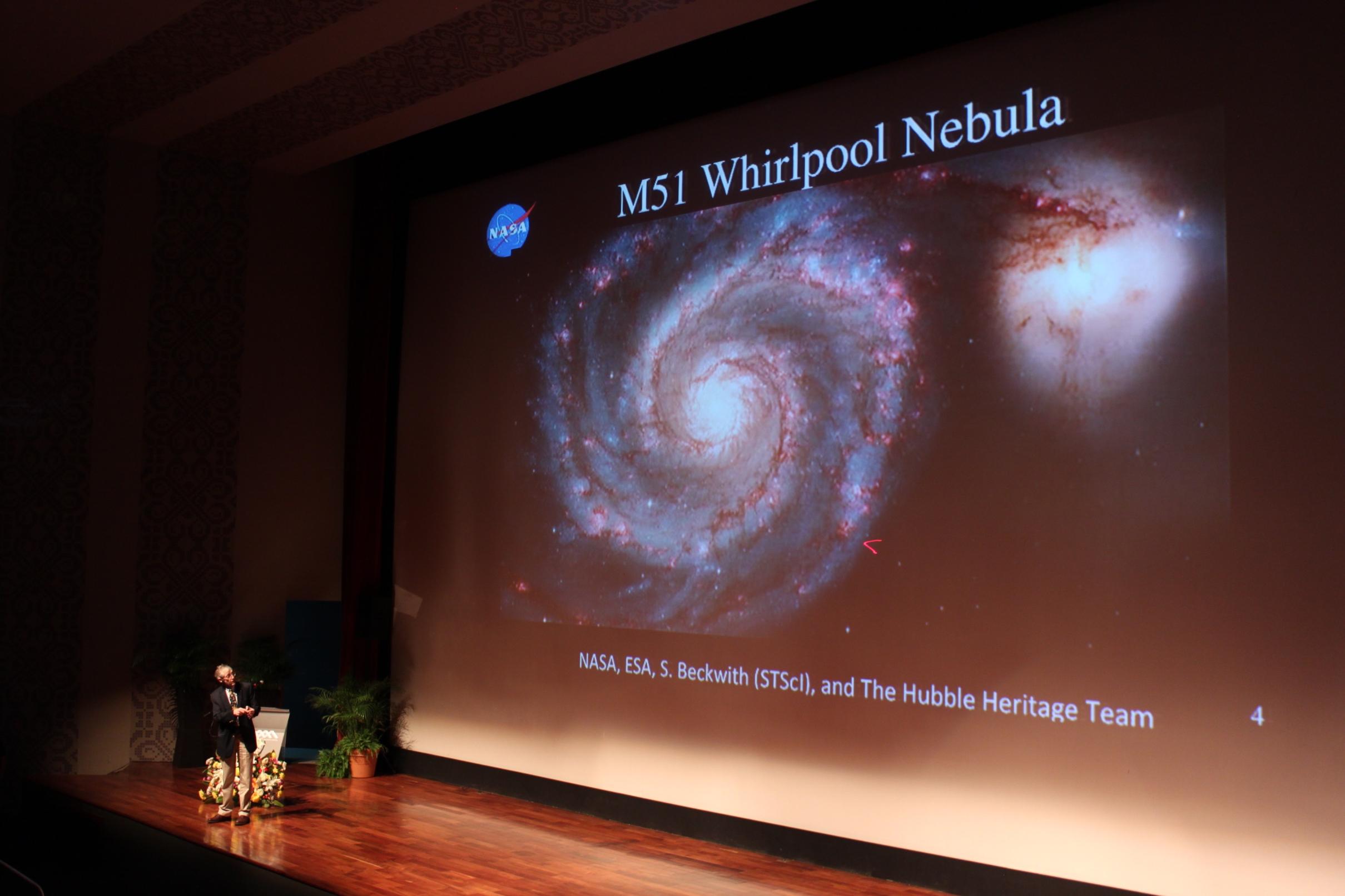 Nobel de Física habla de exploración espacial y futuro de la vida