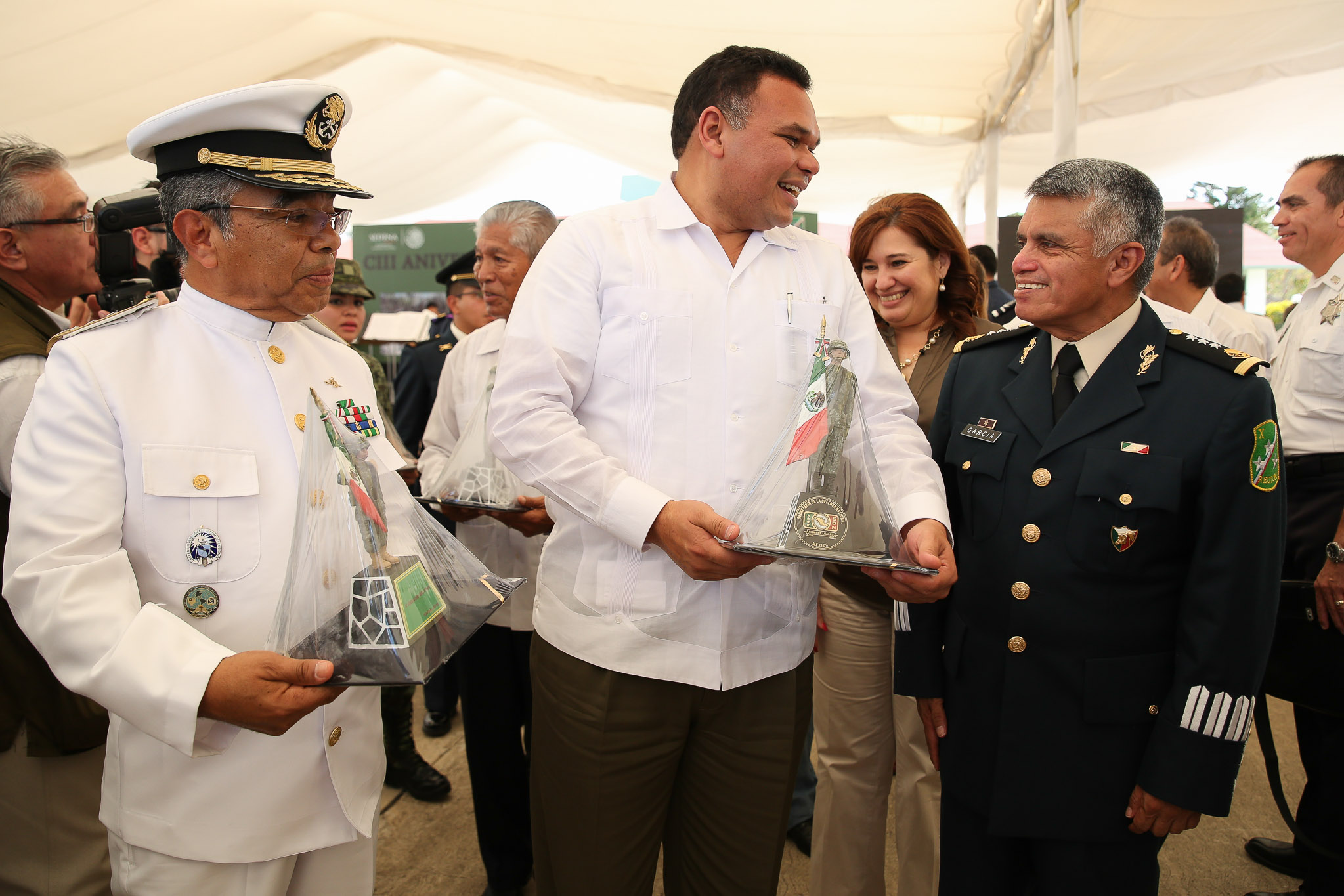 Celebra Yucatán a Ejército Mexicano