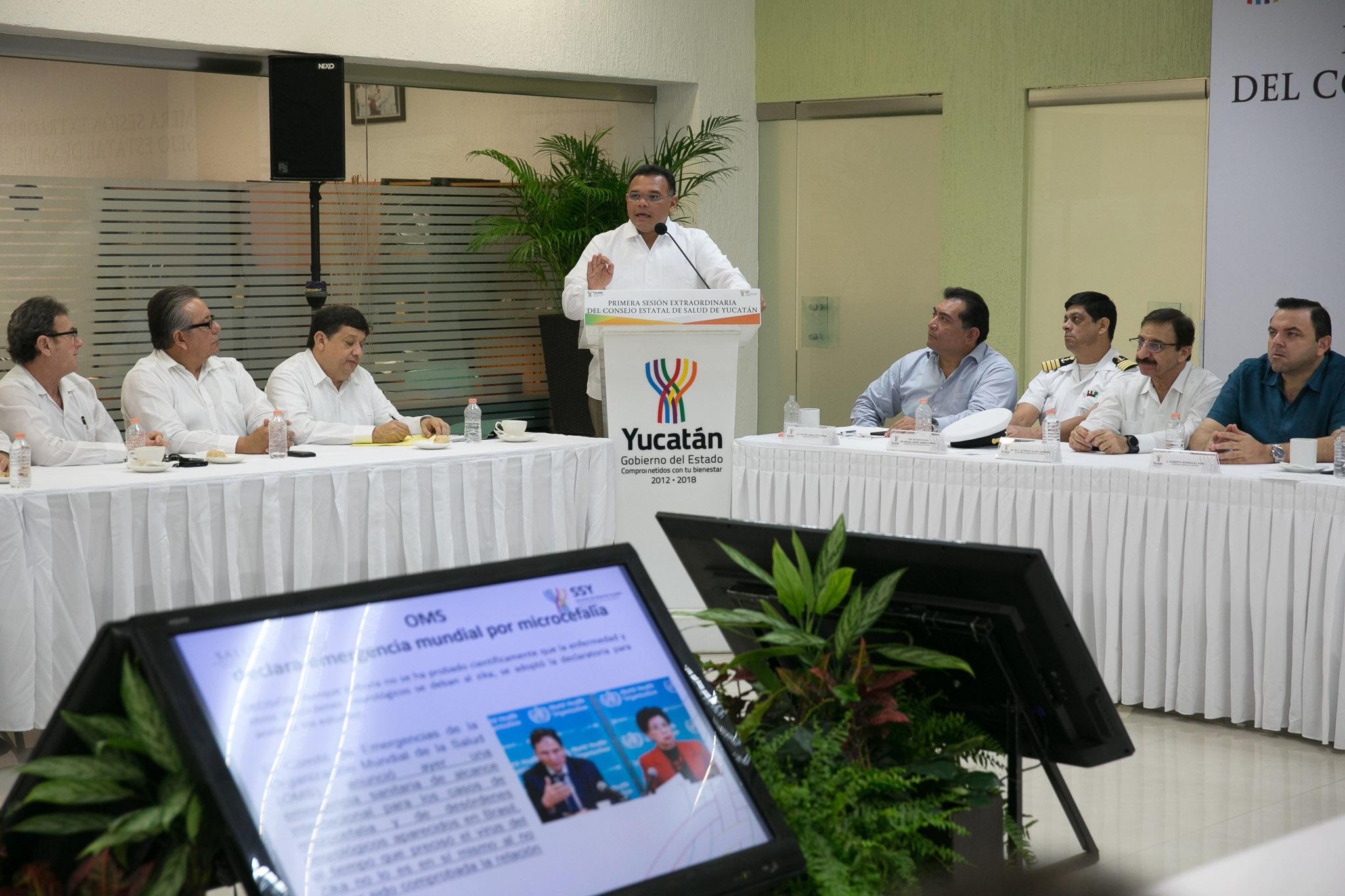 Coordinación en Yucatán, ante emergencia sanitaria