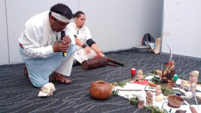 Guía espiritual maya pide respeto a la naturaleza