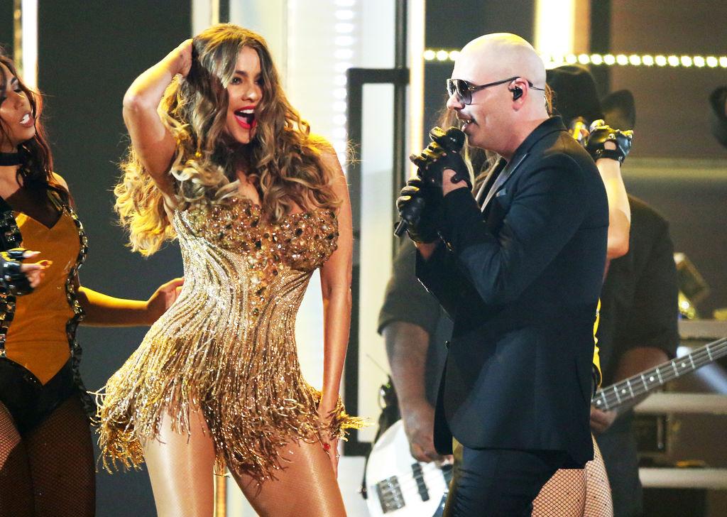 Sofía Vergara 'calentó' los Grammy