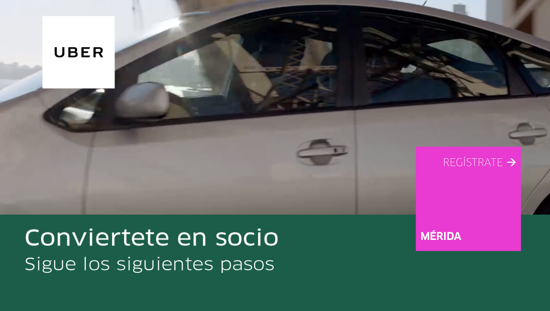 Uber busca socios para llegar a Mérida