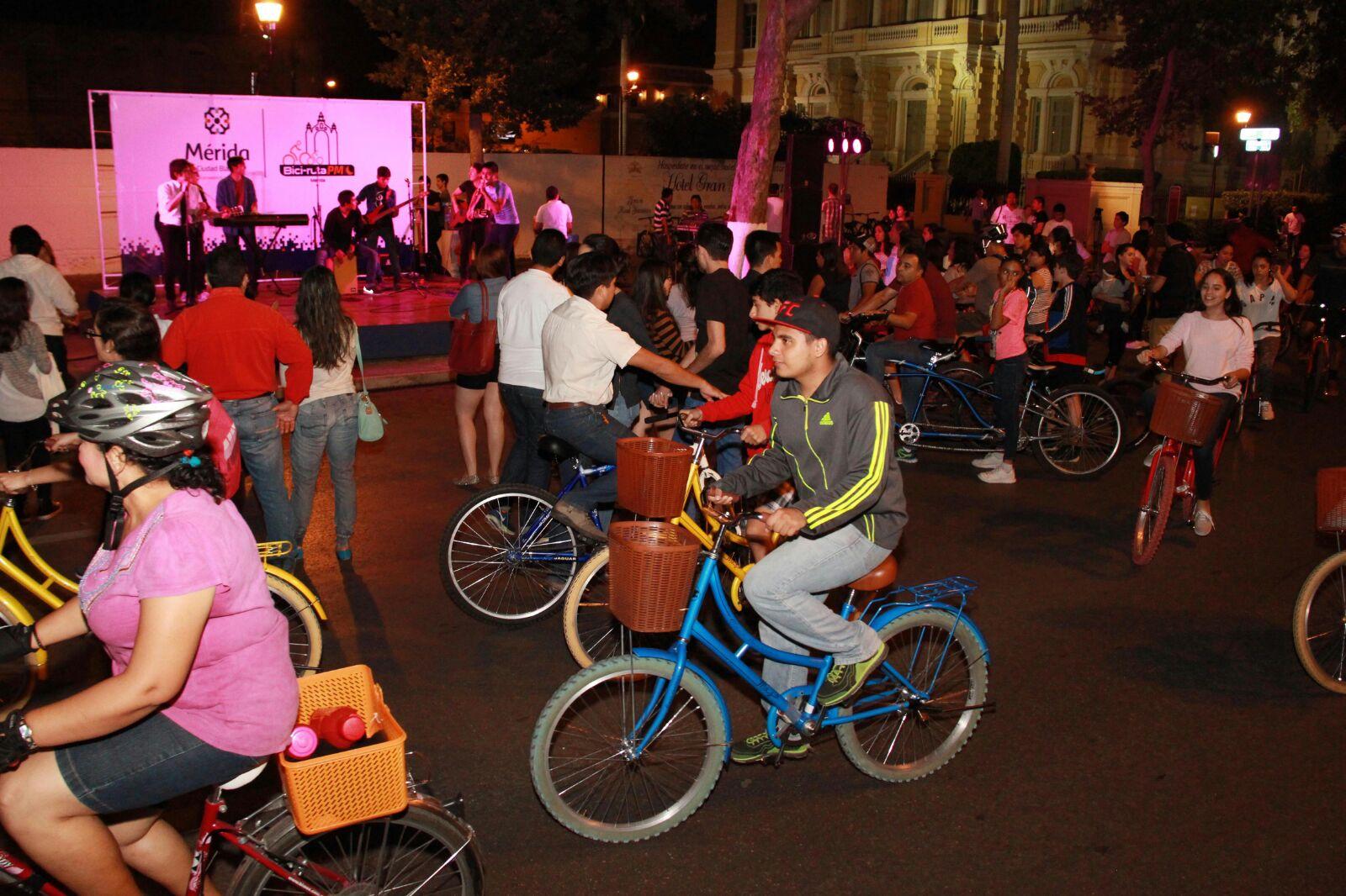 Inauguran Bici-Ruta Nocturna, nuevo espacio para unir a familias