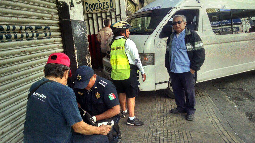 Arrollan a septuagenario en centro de Mérida