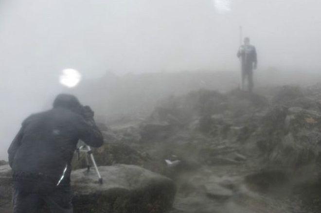 La montaña que pasó a medir un metro más