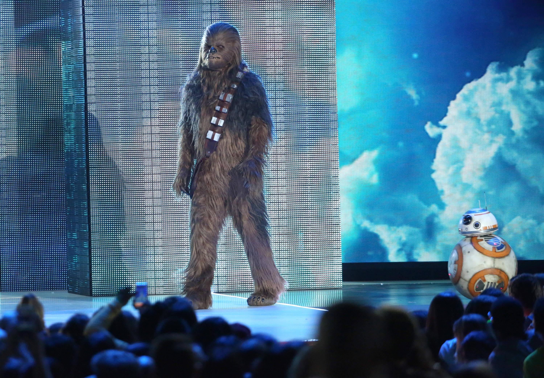 'Star Wars', ganadora en los Kids' Choice Awards