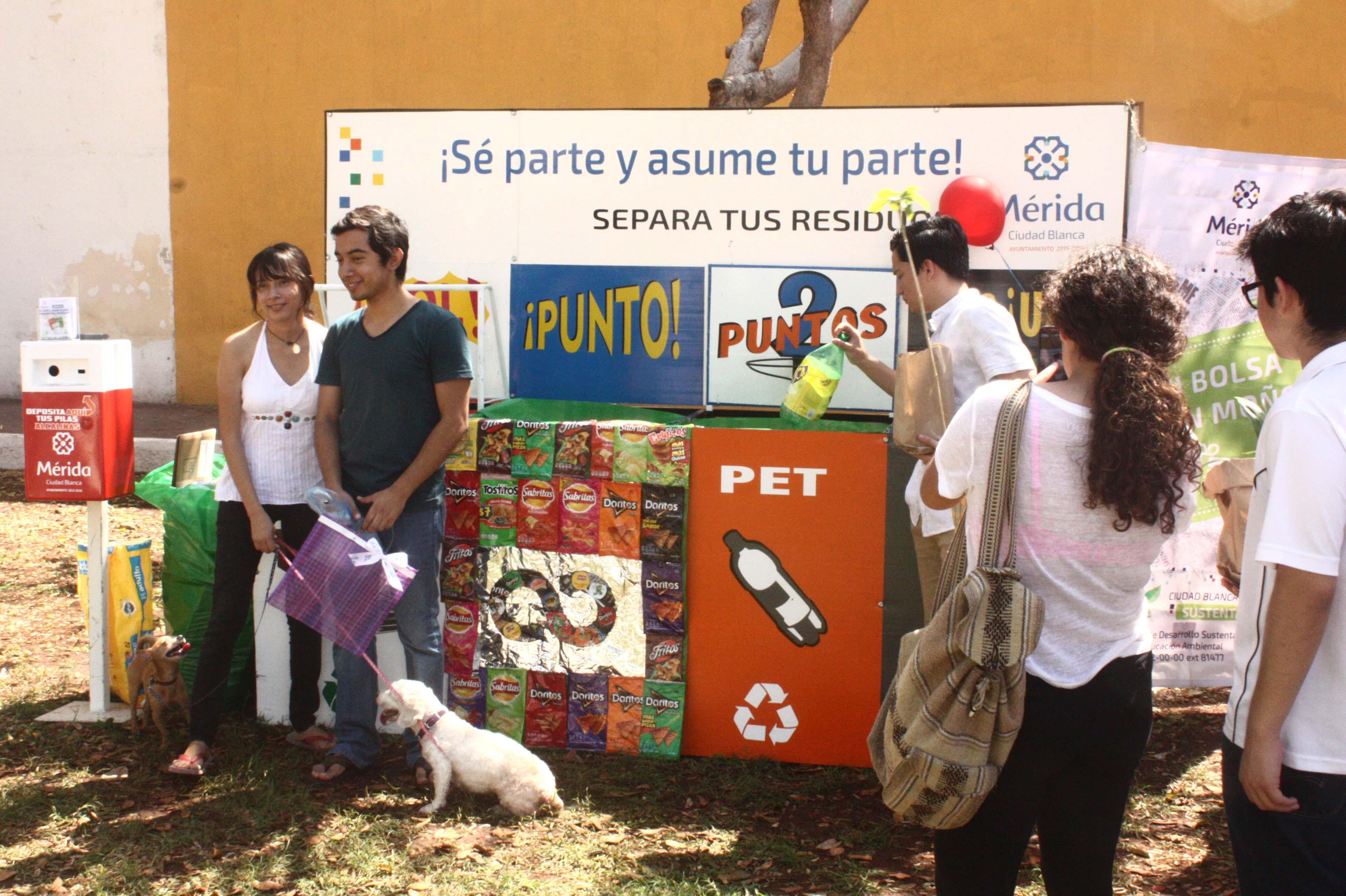 Promueven en Mérida consumo responsable a favor del planeta