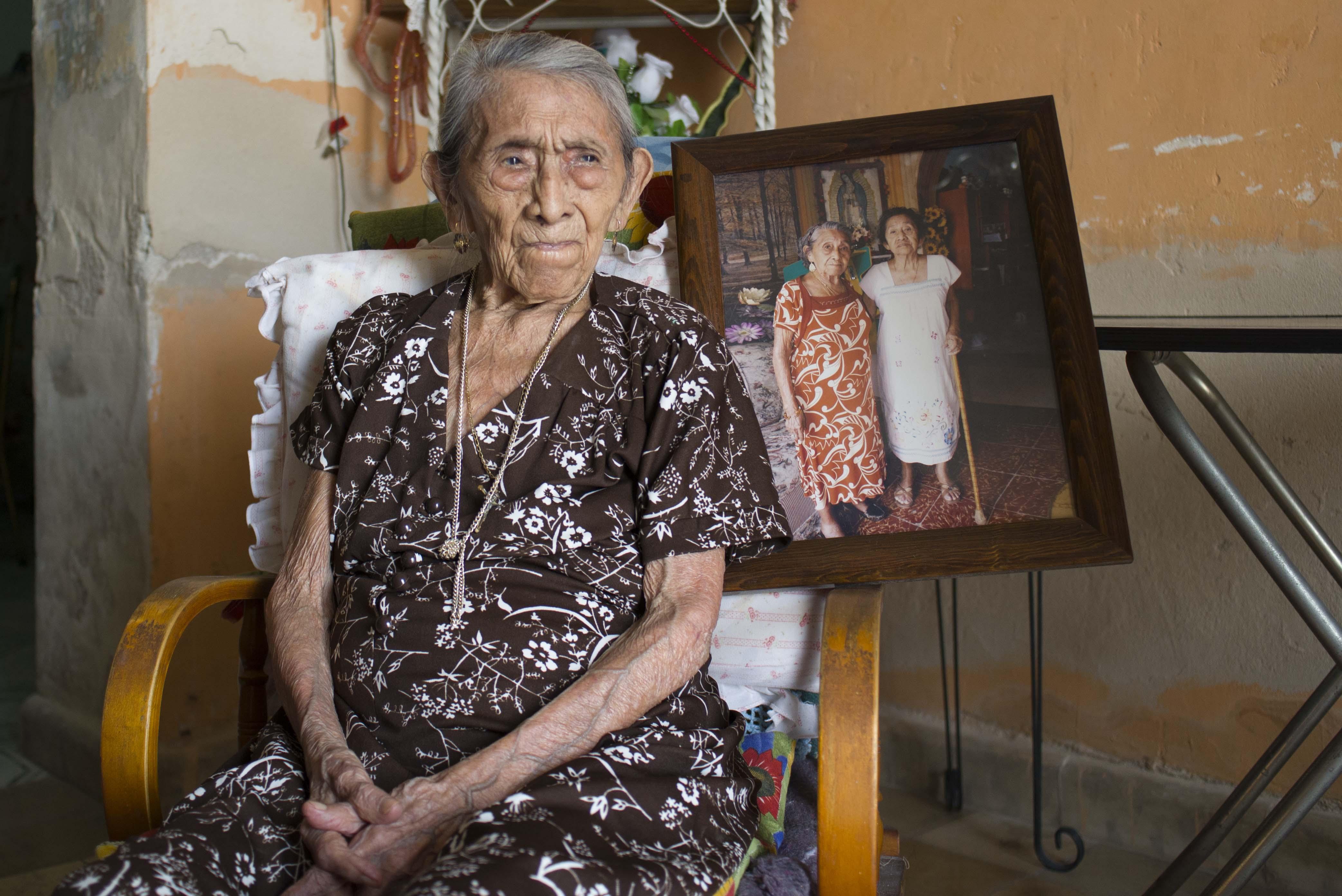Longeva mujer maya, testigo de más de un siglo