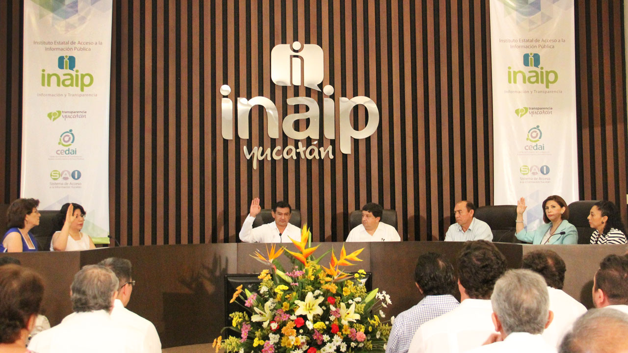 Apura Yucatán armonización en materia de Transparencia