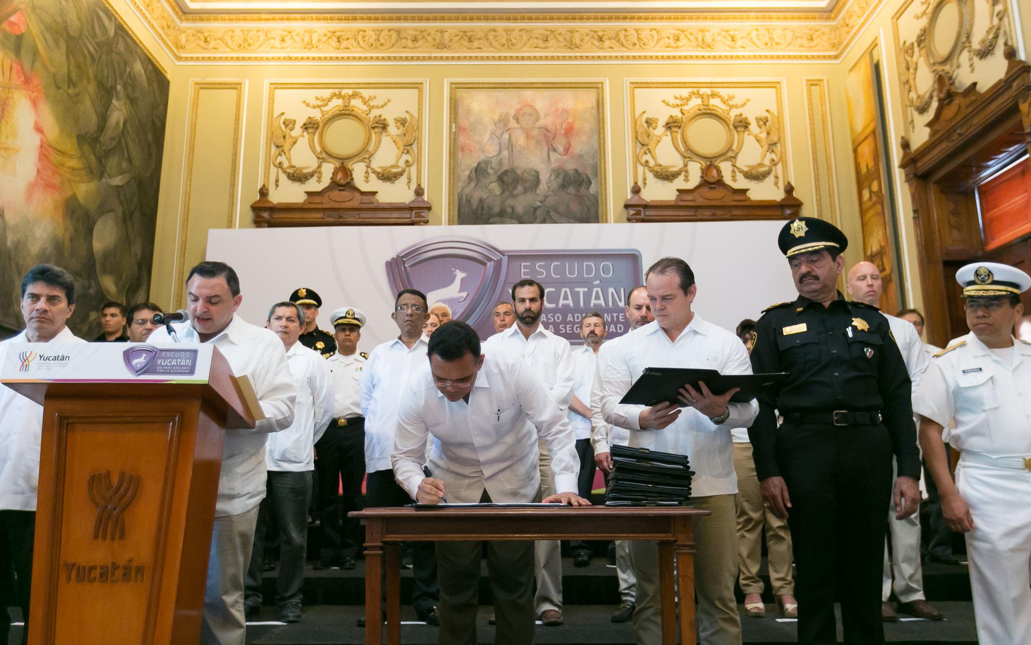 Lanza Yucatán nueva estrategia de seguridad pública