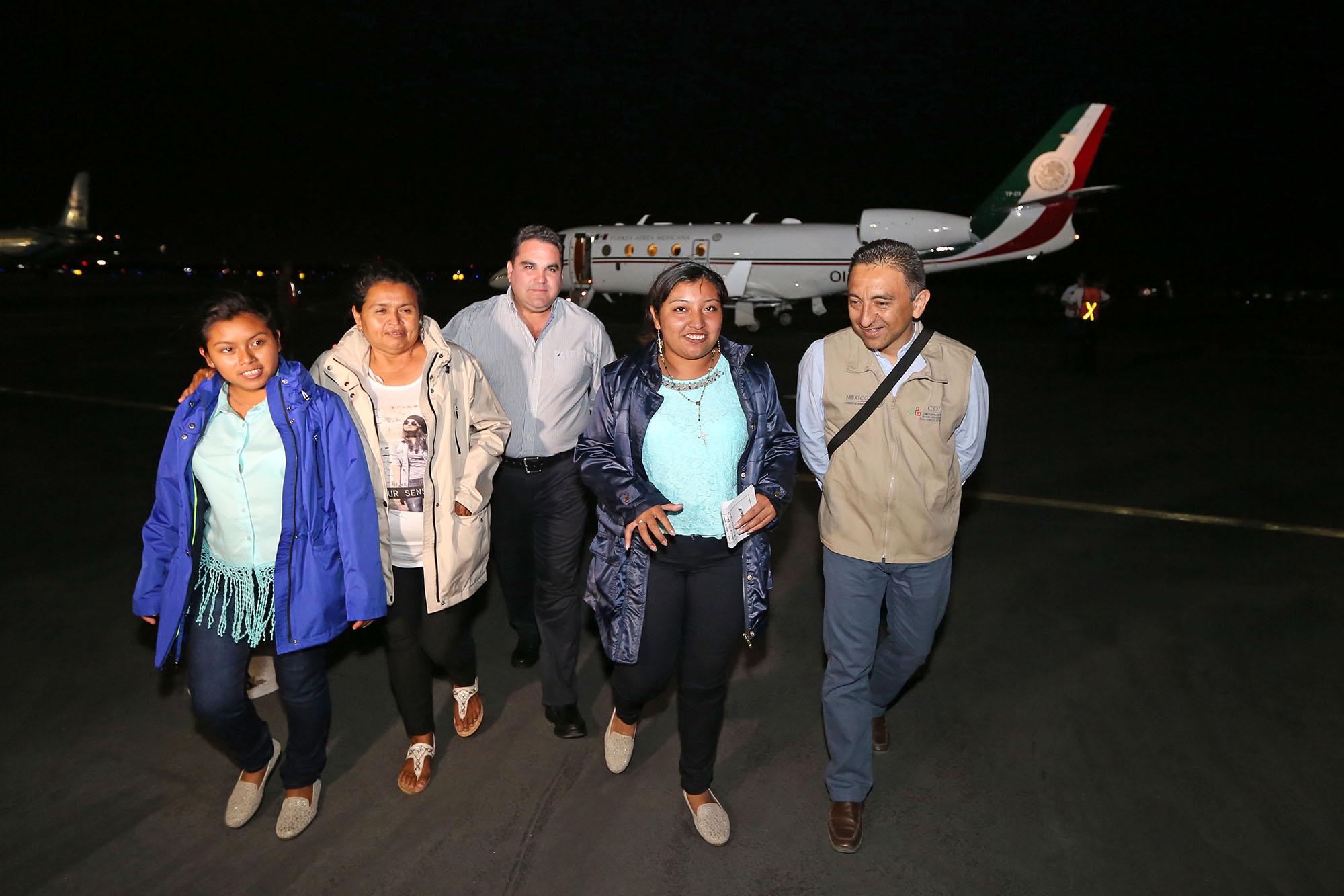 La niña maya y el viaje que, dice, cambió su vida