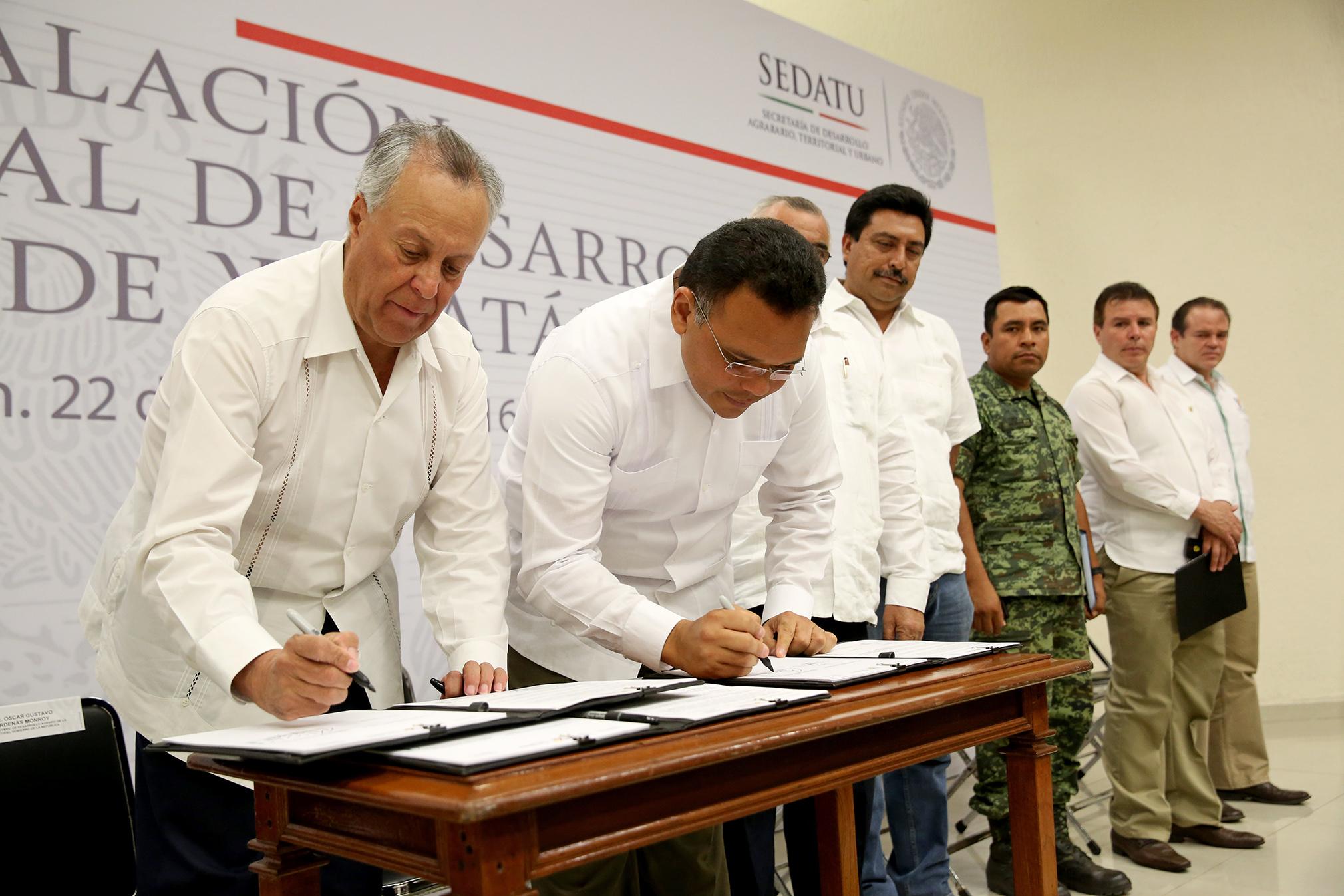 Instalan en Yucatán Consejo Estatal de Desarrollo Agrario