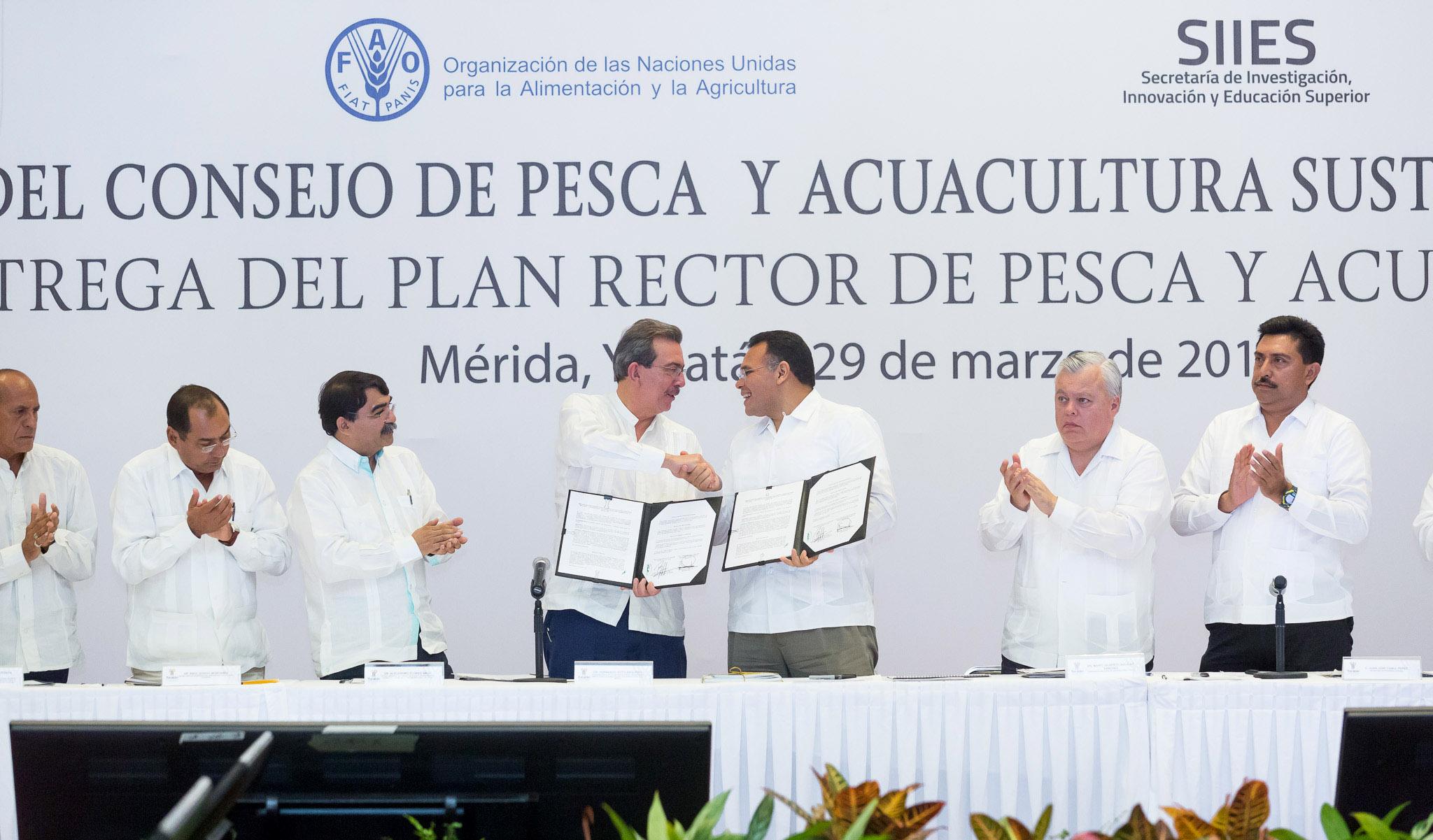 Cuenta Yucatán con Plan Rector para Desarrollo de Pesca y Acuacultura Sostenible