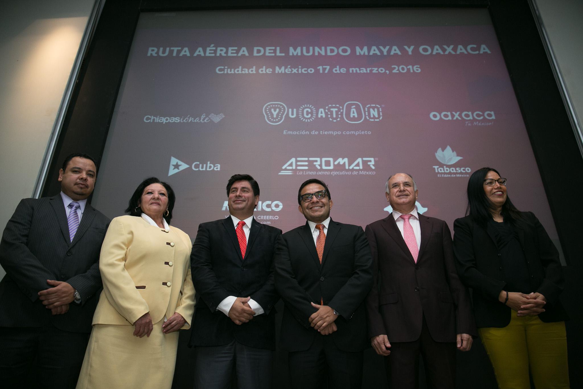 Mundo Maya y Oaxaca, conectados vía aérea