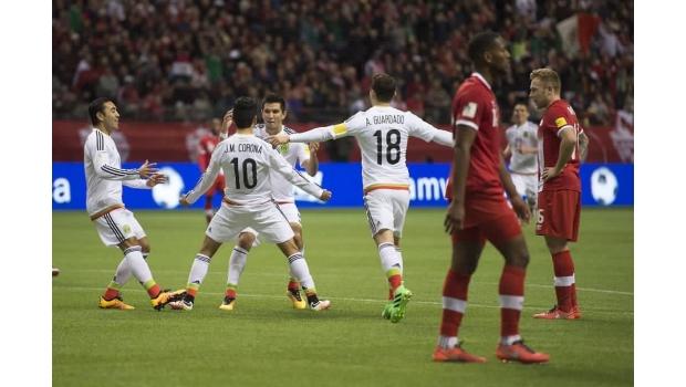 México venció 3-0 a Canadá eliminatorias de Concacaf