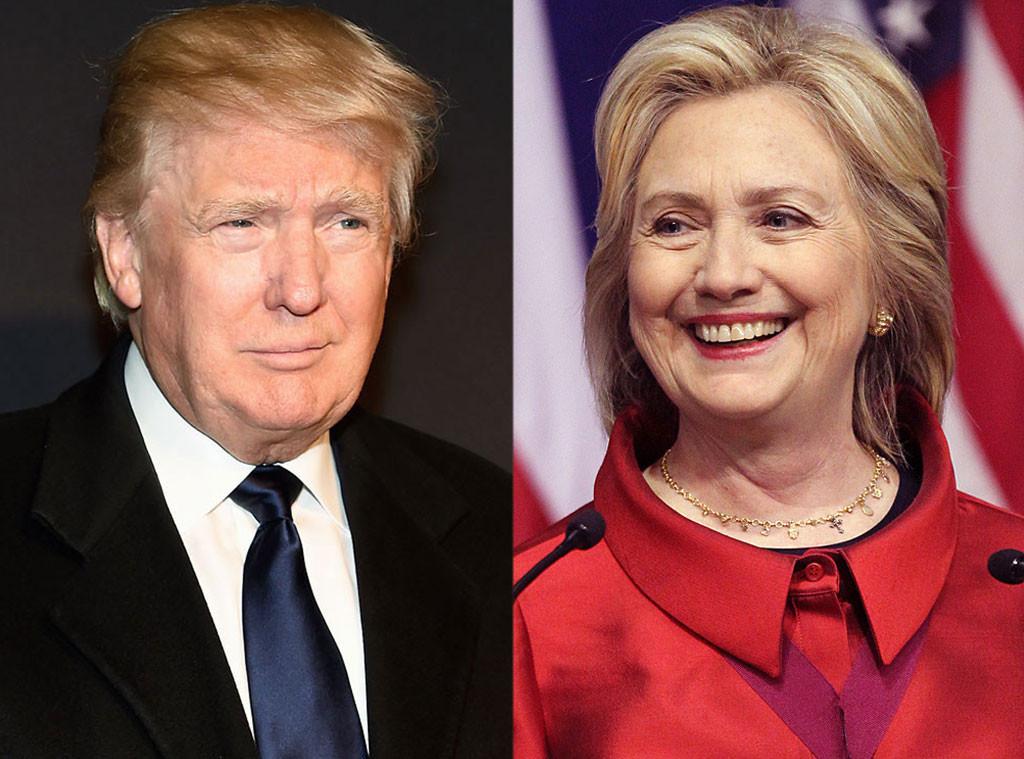 Trump aventaja en republicanos; Hillary con demócratas