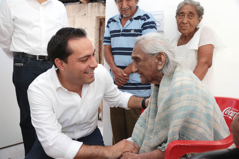 Anuncia Vila Plan Municipal de Apoyo a Vivienda en Mérida