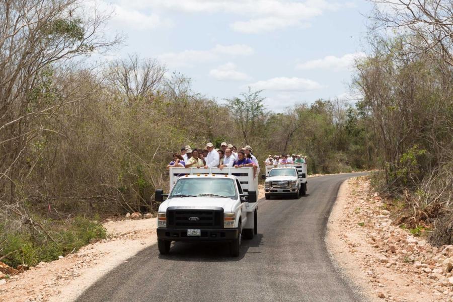 Certeza jurídica para ejidatarios de Oxkutzcab