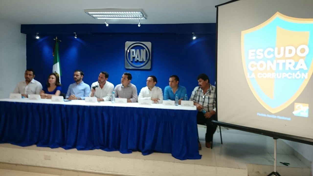 """Contrapone PAN """"Escudo contra la Corrupción"""""""