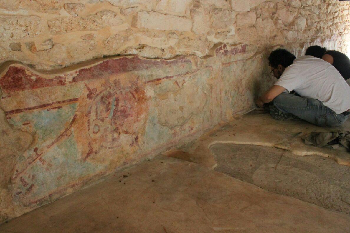 Por concluir restauración de murales en Mayapán