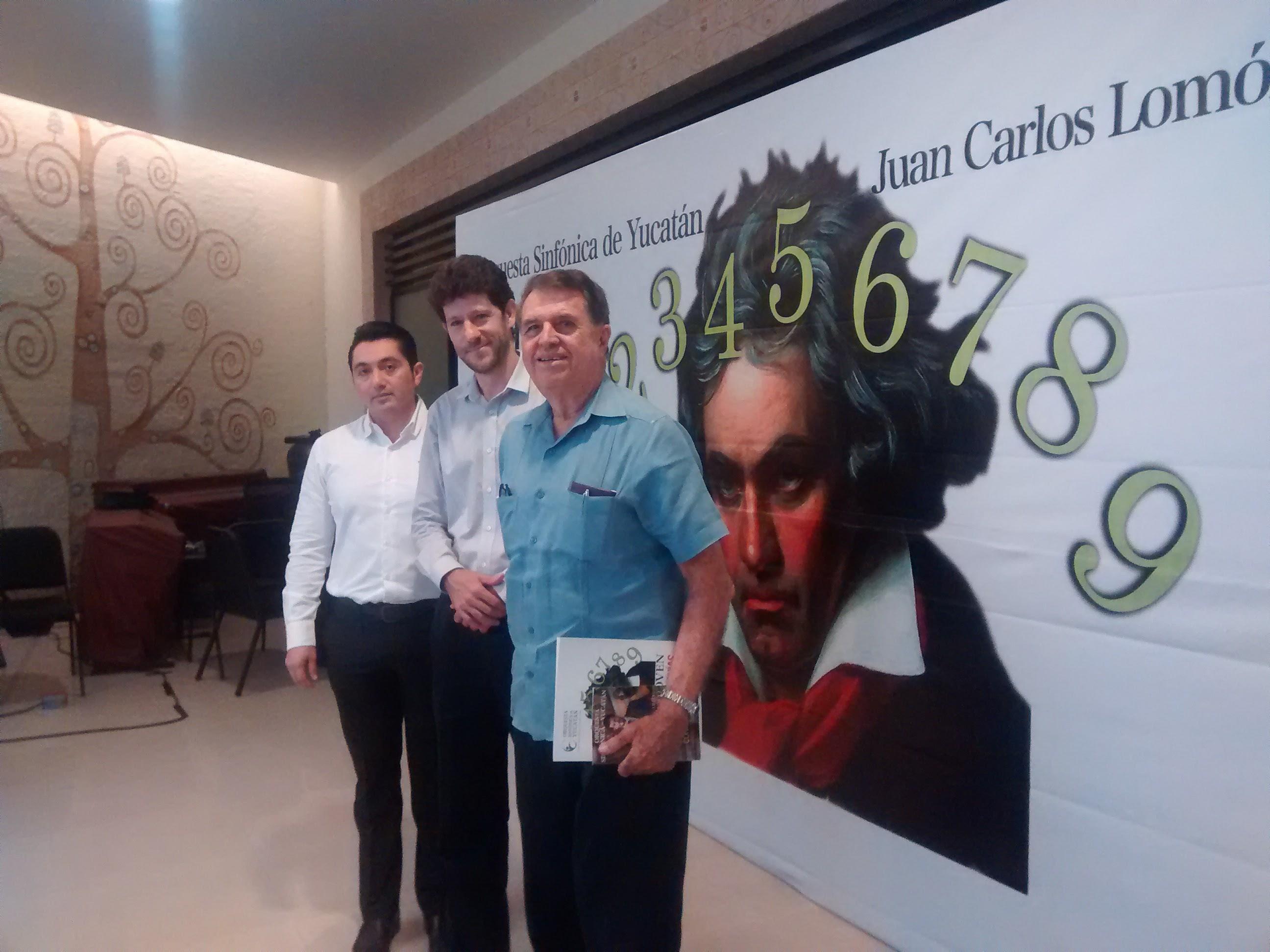 Anuncian presentación de Nueve Sinfonías de Beethoven