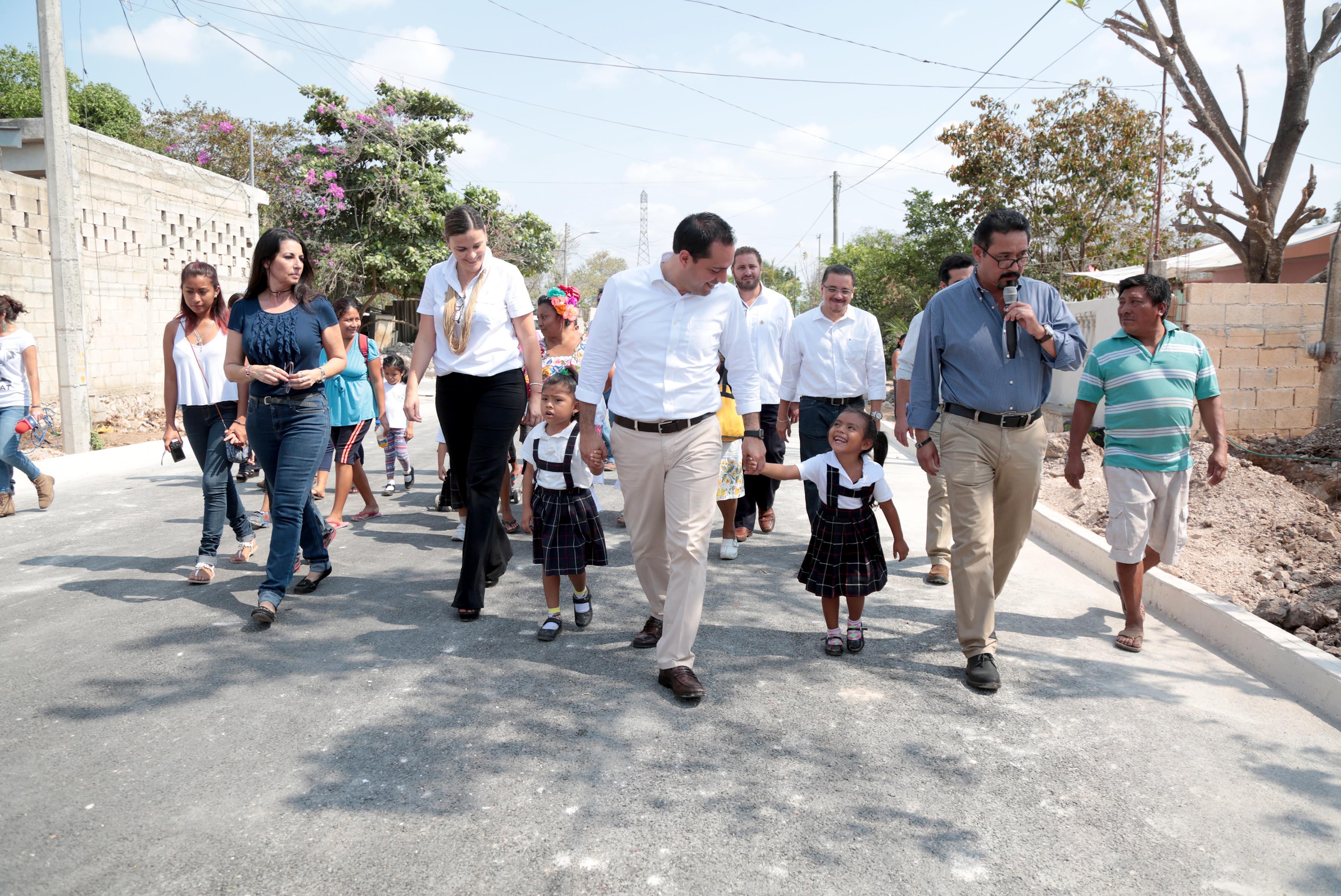 Obras de infraestructura en la Emiliano Zapata Oriente