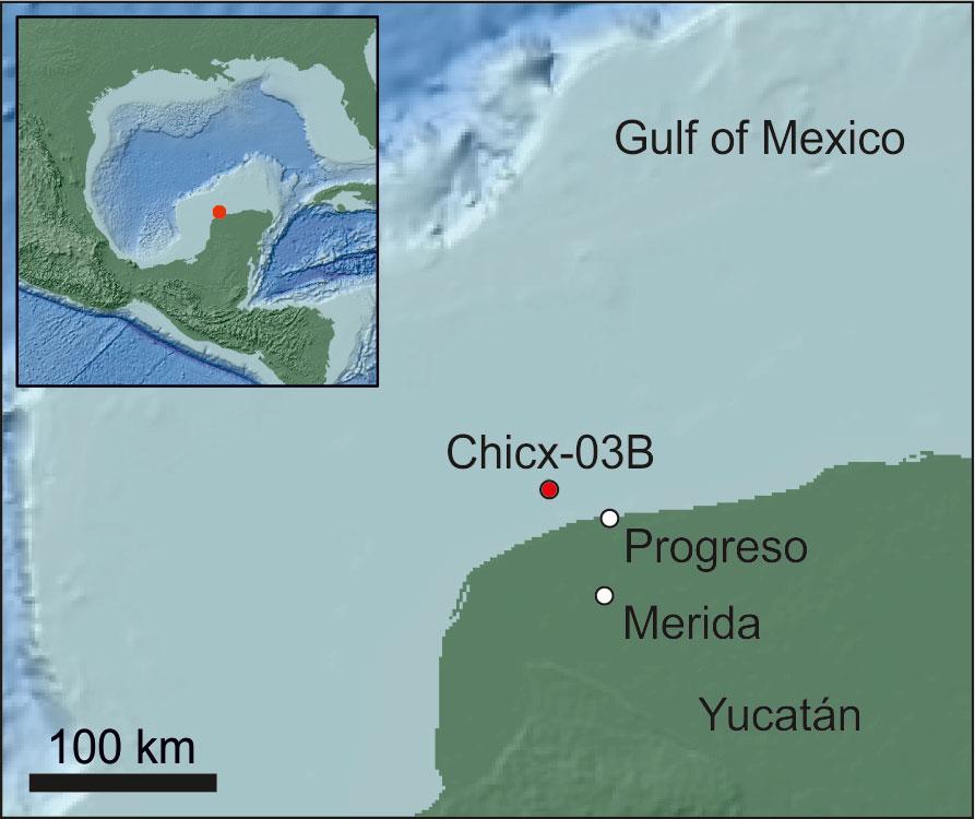 La vida después del impacto en cráter de Chicxulub