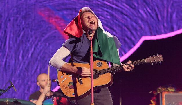 Coldplay ilumina el Foro Sol