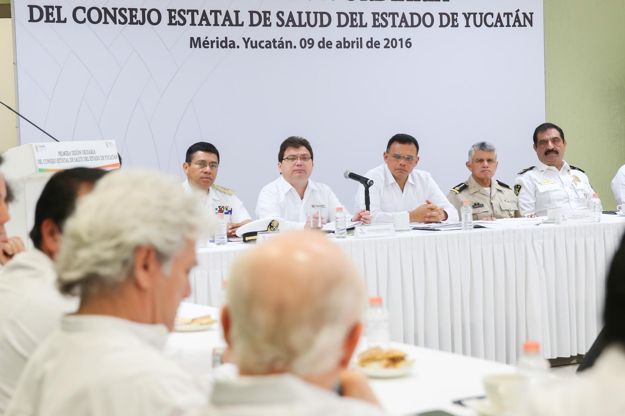 Analizan resultados de combate a mosco en Yucatán