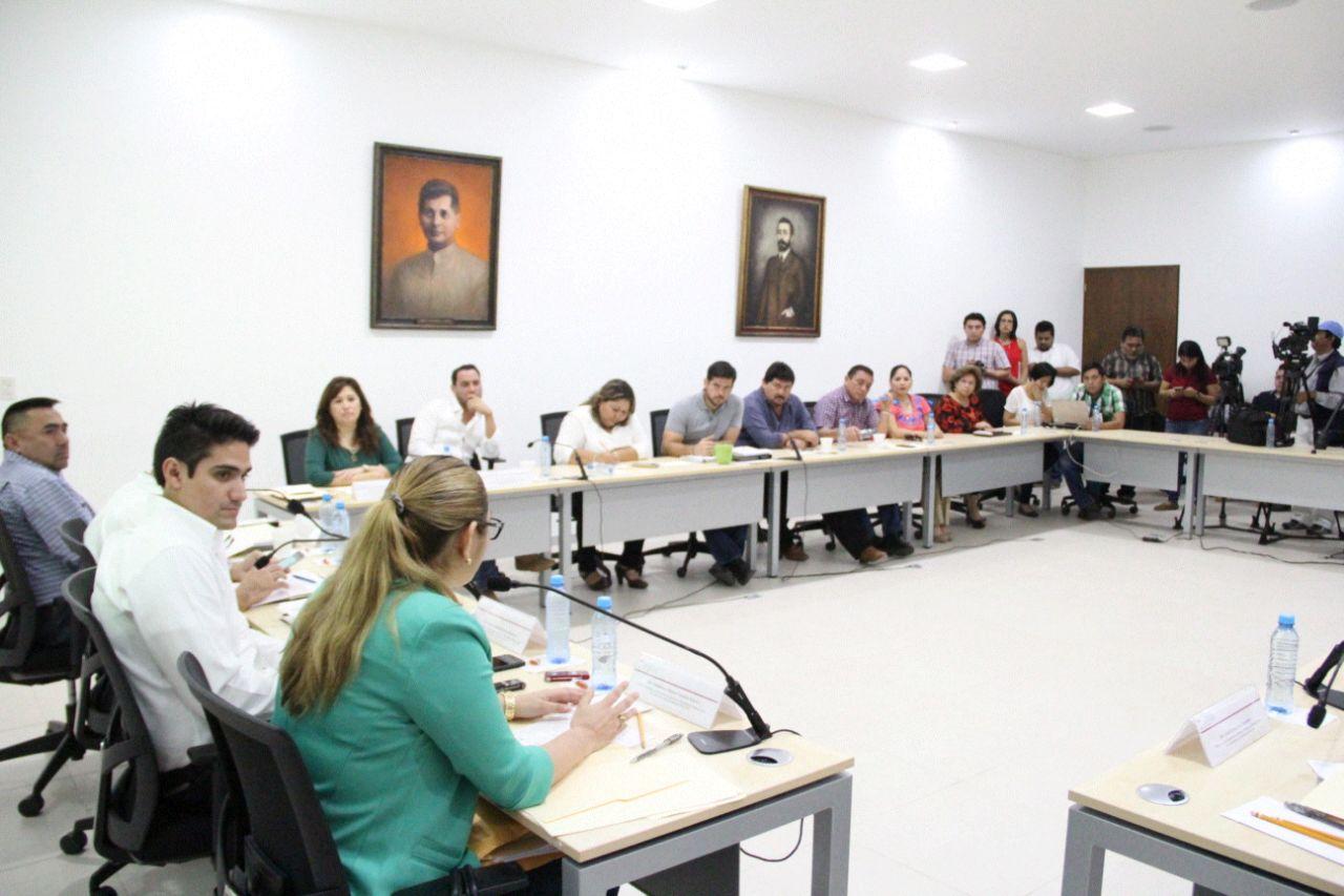 Avala comisión primera iniciativa de paquete de seguridad