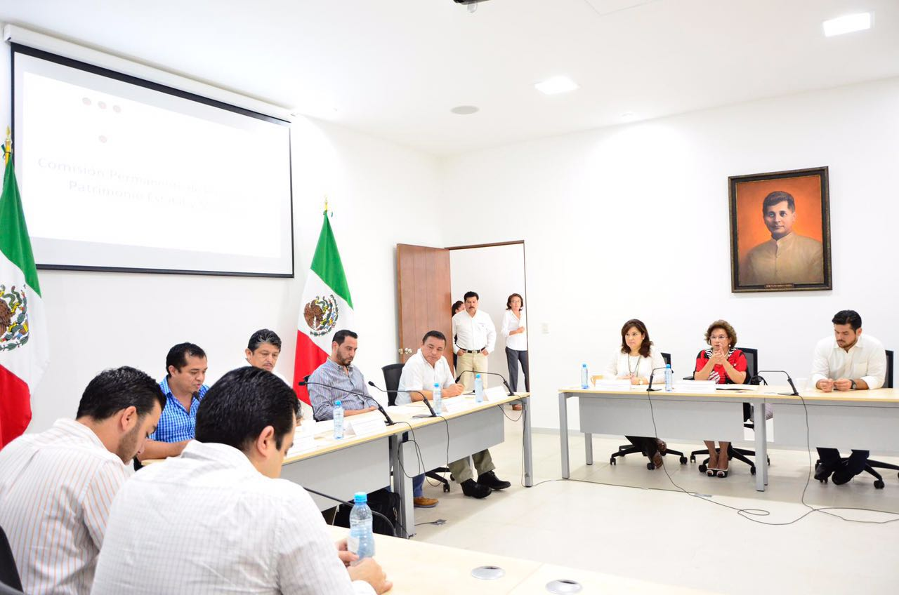 Comisión de Congreso Yucatán recibe iniciativa para inversión en seguridad