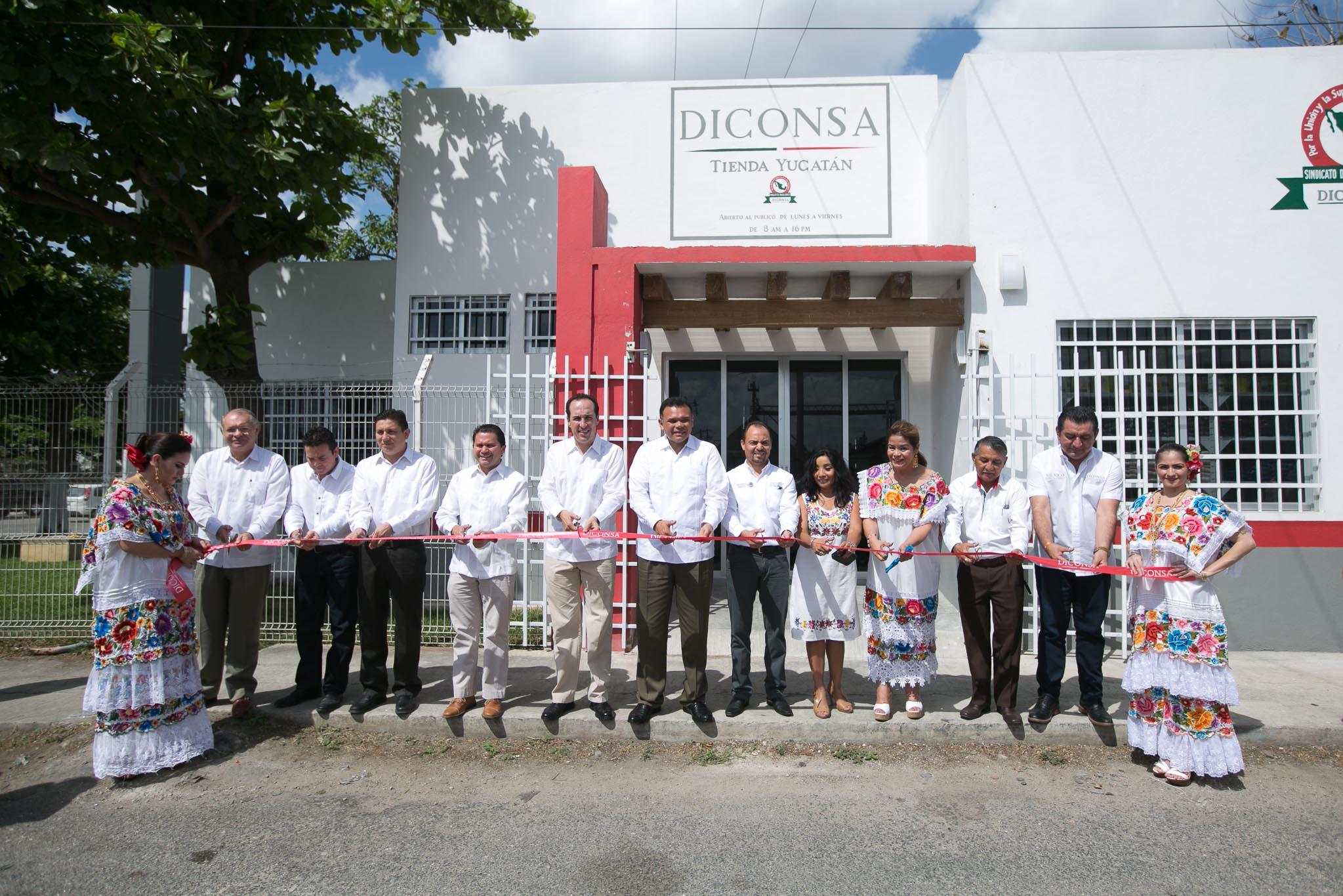 Nueva tienda de Diconsa abre puertas en Yucatán