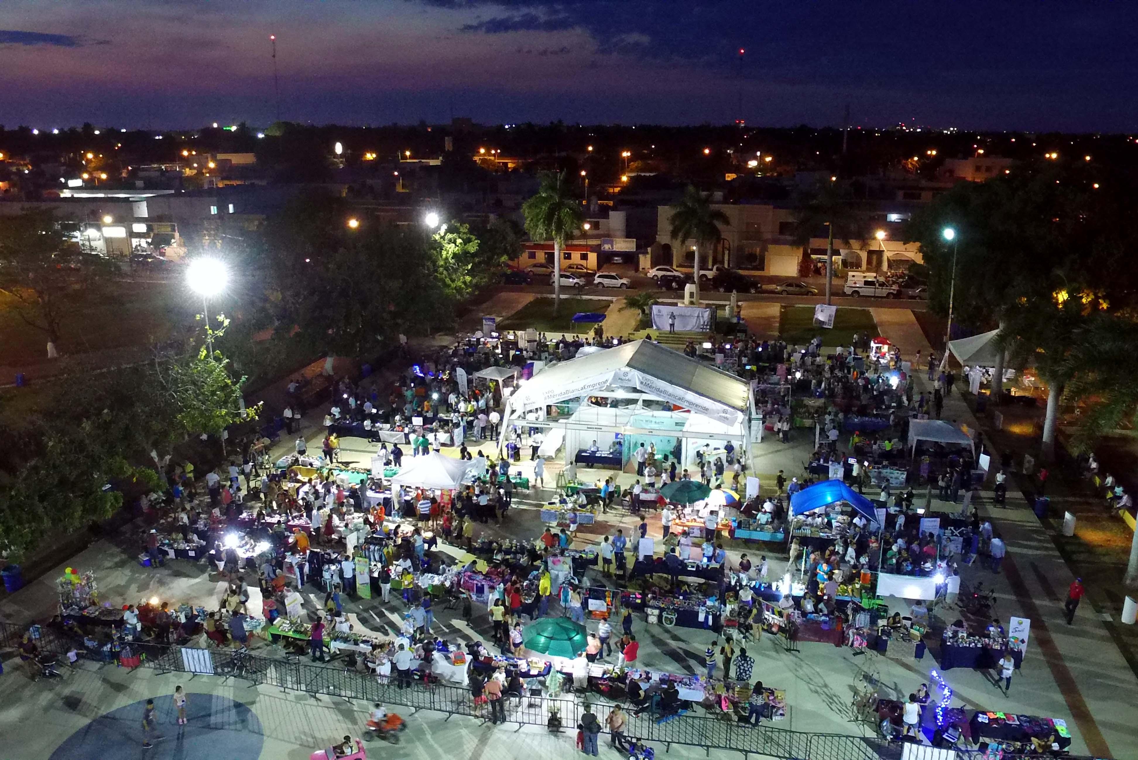 Abre Expo #MéridaBlancaEmprende