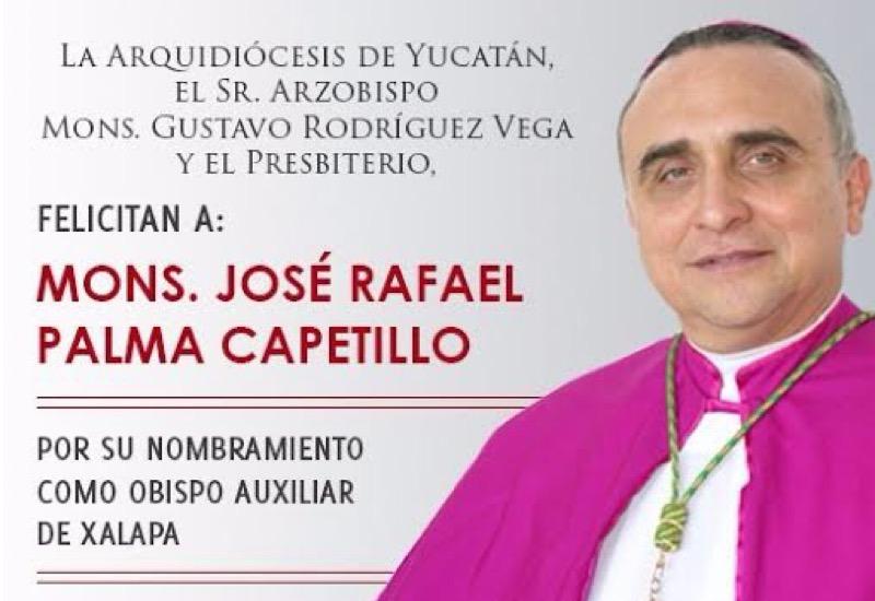 Monseñor Palma Capetillo, obispo auxiliar de Xalapa