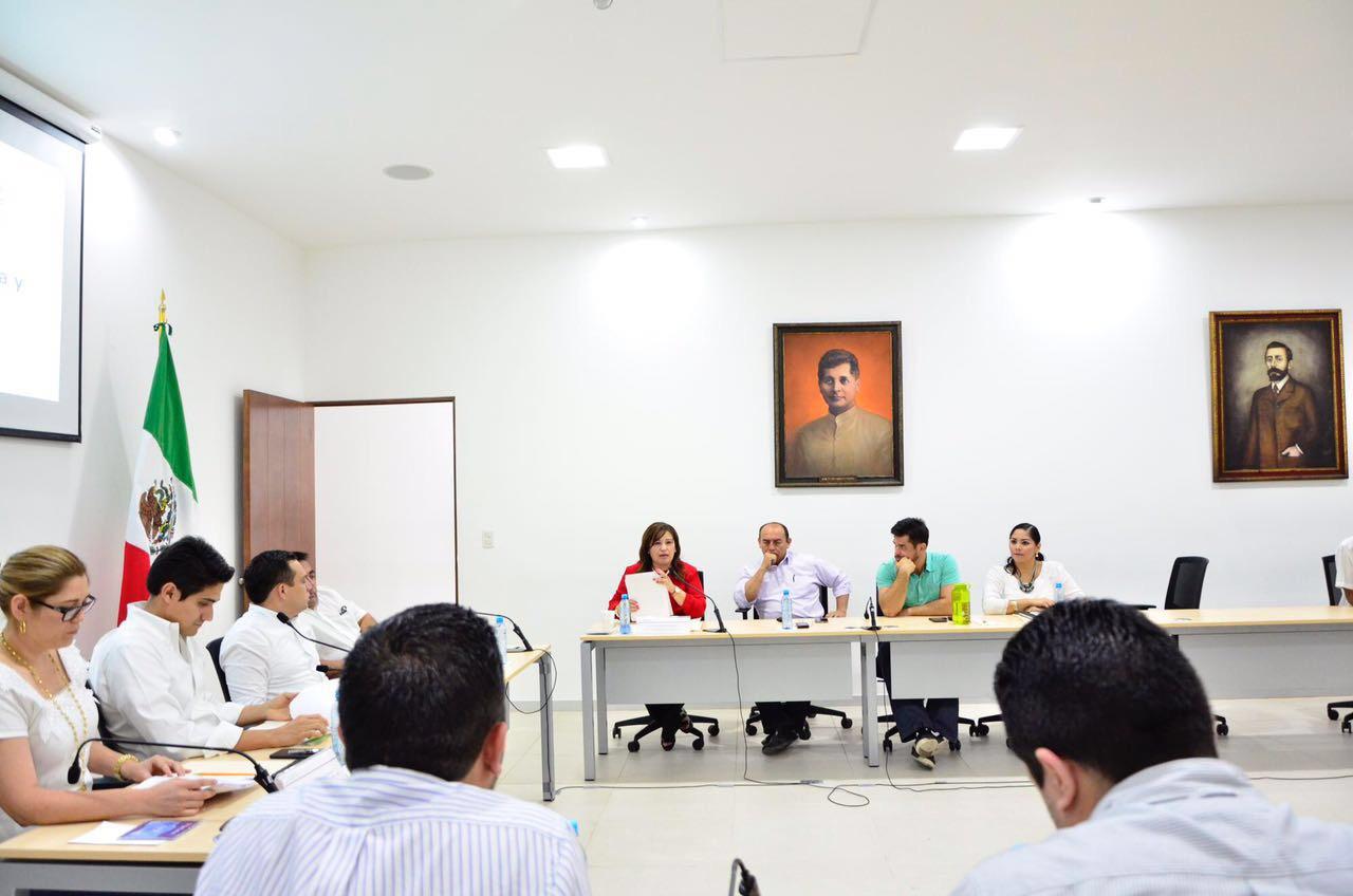 Cierran comisiones estudio en seguridad y transparencia