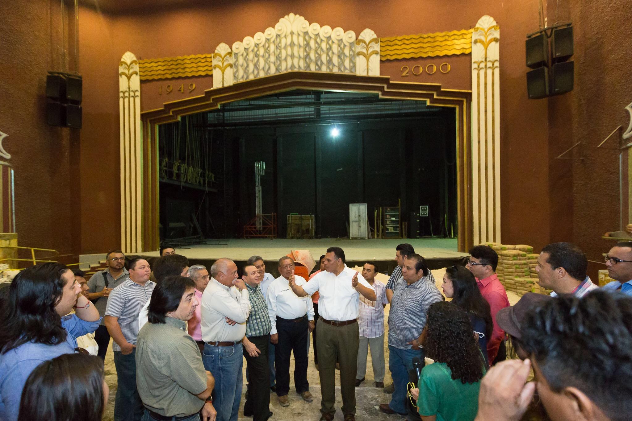 Modernización de espacios culturales en Centro Histórico