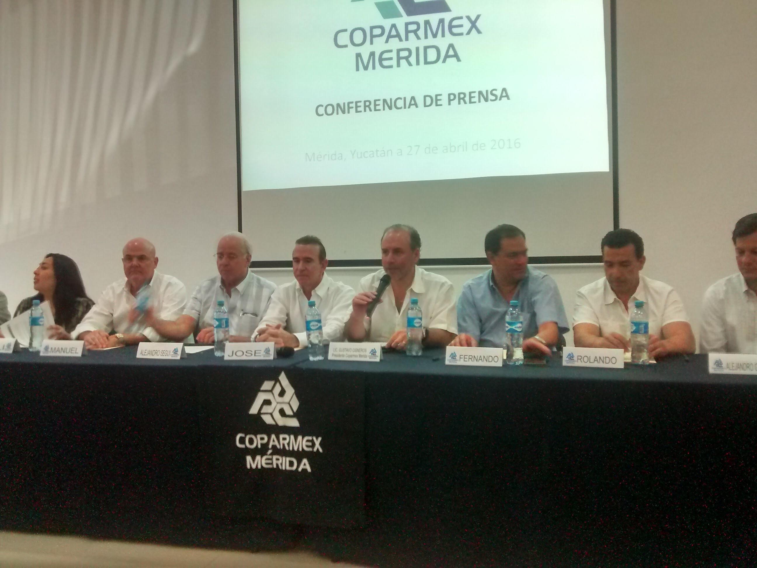 Exige Coparmex-Yucatán Ley Anticorrupción