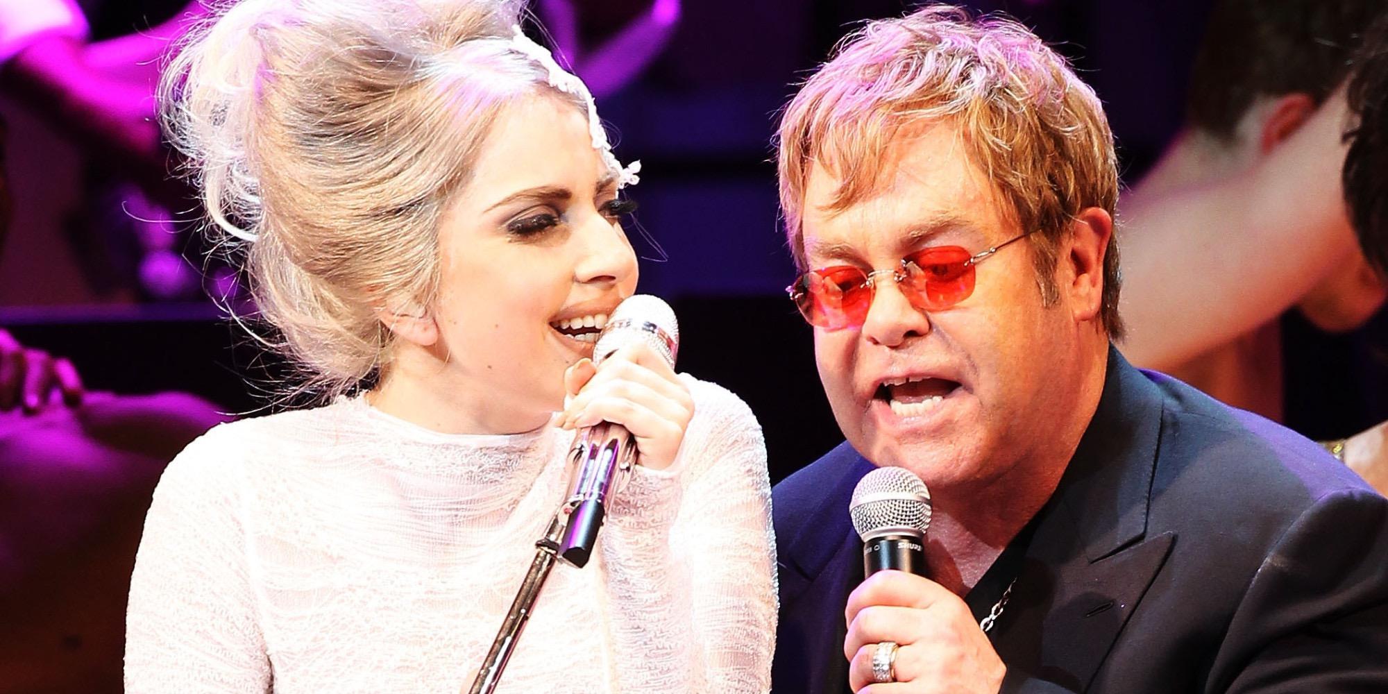 Lady Gaga y Elton John lanzan su línea de ropa
