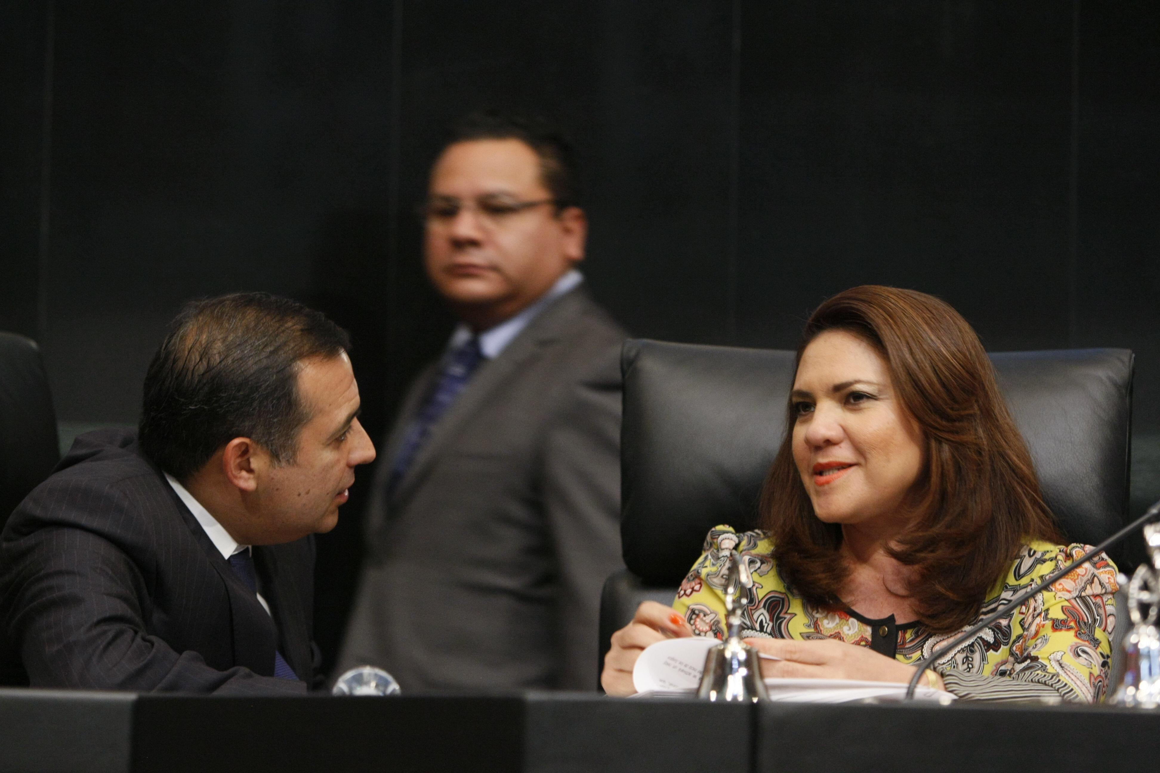 Atiende senadora yucateca llamado de Coparmex