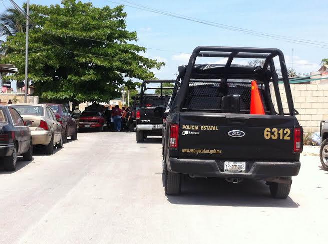 Fuerzas de seguridad buscan autos robados en Kanasín